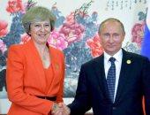 بوتين: الاجتماع مع ماى ربما يسهم فى تجاوز خلاف سكريبال