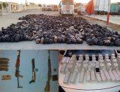 القبض على 4 مسجلين خطر بحوزتهم 22 كيلو بانجو وأسلحة نارية فى أسوان