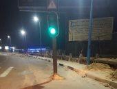 مطالب بنقل إشارة مرور بطريق كورنيش الإسكندرية تجنبا للحوادث