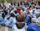 احتجاجات بين أطباء بولاندا بسبب تدنى أجورهم