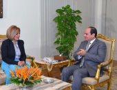 مشيرة خطاب: الرئيس السيسى أوفد مبعوثين رسميين لدعمى فى سباق اليونسكو