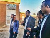 """مسئول وزارة التجارة وشباب أسيوط يتفقدون المنطقة الصناعية بـ""""ساحل سليم أسيوط"""""""