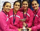 سيدات الإسكواش يدافعن عن لقب بطولة العالم للفرق بفرنسا