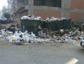 بالصور.. تراكم أتلال القمامة فى شارع الفاتح بمدينة طنطا