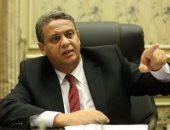 """""""رئيس خارجية البرلمان"""": النائب علاء عبد المنعم فى طريقه للشفاء"""