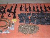 ضبط أسلحة نارية غير مرخصة وكميات من المخدرات فى حملة أمنية بقنا