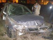 إصابة 5 أشخاص فى انقلاب سيارة ملاكى بالإسماعيلية