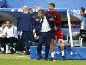 """مُدرب البرتغال: """"لَيتنى لم أُشرك رونالدو أمام مانشستر يونايتد قبل 13 عامًا"""""""