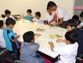 """الأطفال يبتكرون مشاريعهم الفنية فى """"الشارقة الدولى للكتاب"""""""