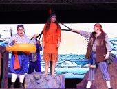 """بالصور.. عروض مسرحية لفرقة آس فوريكى للأطفال بـ""""الشارقة الدولى للكتاب"""""""