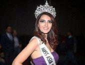 أيسل خالد تطير للفلبين لتمثيل مصر بمسابقة ملكة جمال آسيا والمحيط الهادى