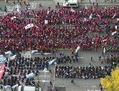 كوريا الجنوبية تشدد إجراءات الأمن لمنع المتظاهرين من الوصول للقصر الرئاسى
