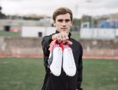 """بالصور.. جريزمان يؤكد جاهزيته لديربى مدريد بحذاء """"بوما"""""""