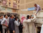 محافظة الجيزة توزع 100 طن سكر على المواطنين بسيارات متنقلة