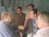 حملة رقابية على المجمعات الإستهلاكية وبدالين التموين بطنطا