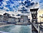 بالصور.. مواطن يعشق الإسكندرية يشارك بلقطات تبرز سحرها وروعتها