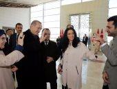 """بالفيديو والصور.. أردوغان """"خَاطْبة""""..يطلب يد ملكة جمال المغرب لممثل تركى"""