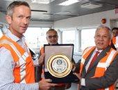 بالفيديو.. لأول مرة السفينة الهولندية STORNES بميناء دمياط