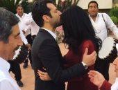 """إيمان البانى تحتفل بعيد ميلاد شقيقتها مع خطيبها """"مراد يلدريم"""" بتركيا"""