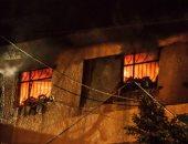 السيطرة على حريق هائل بمصنع أخشاب فى المحلة دون إصابات