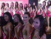 بالصور .. شاهد عرض البكينى بمسابقة ملكة جمال آسيا
