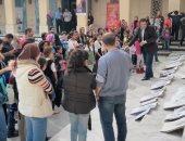 ازدحام فى المسرح المكشوف بسبب مهرجان القاهرة