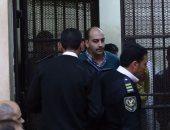 إيداع الضابط المتهم بقتل شيماء الصباغ بقفص الاتهام تمهيداً للحكم عليه