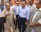 وزير الإسكان يعلن انتهاء محطة صرف صحى رواج البياضية بالأقصر
