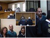 جلسة إعادة محاكمة الضابط المتهم بقتل شيماء الصباغ