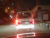 إصابة عدد من الأشخاص فى انقلاب سيارة ميكروباص بالوراق