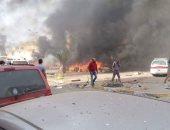 مصادر: تفجير سيارة مفخخة أمام مستشفى بمدينة بنغازى الليبية