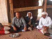 بالصور..برنامج تكافل وكرامة يوزع 300 بطانية على بدو وادى مجيرح بدهب