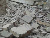 انهيار منزل قديم بالمحلة دون وقوع إصابات