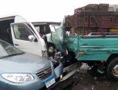 حقيقة تعرض أبناء مواطن لحادث تصادم على طريق طلخا بالدقهلية