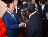 السيسى يلتقى نائب رئيس جمهورية بوروندى لتعزيز العلاقات بين البلدين