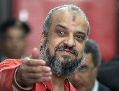 البلتاجى يظهر ببدلة السجن الحمراء بعد حكم إعدامه بقضية رابعة