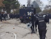 اشتباكات بين الشرطة البلغارية ومهاجرين