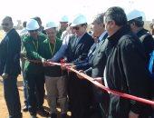 وزير البترول يفتتح خط أنابيب نقل وإنتاج الزيت من حقول بتروشهد لمحطة قارون