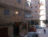 بالصور.. مصابيح الإنارة مضاءة نهارا بشوارع العصافرة فى الإسكندرية