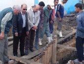 رئيس مياه الفيوم: المزارعين يغلقون خطوط الصرف الصحى بالحجارة لرى المحاصيل