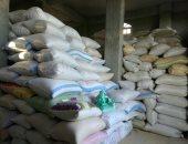 ضبط 50 طن أرز شعير بقصد حبسها عن التداول فى حملة تموينية بقطور