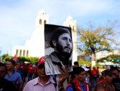 الكوبيون يحتشدون فى ميدان الثورة لوداع كاسترو