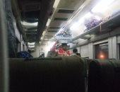 شكوى من انتشار الباعة الجائلين والمتسولين بقطارات الصعيد
