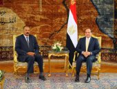 السيسى يلتقى رئيس اريتريا اليوم بقصر الاتحادية