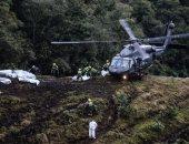 العثور على الصندوقين الأسودين لطائرة الفريق البرازيلى المنكوبة فى كولومبيا