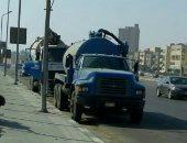 الصرف الصحى بالقاهرة ينفى كسر ماسورة صرف فى الخليفة المأمون