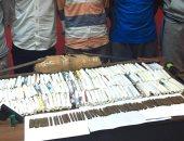 ضبط 10مروجين للمواد المخدرة بحملة أمنية على البؤر الإجرامية بالقليوبية