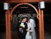 رئيس محكمة غرب الإسكندرية يحتفل بزفاف ابنته بحضور رجال القضاء