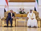 الرئاسة: زيارة السيسى للإمارات غداً تهدف لتعزيز العمل العربى المشترك