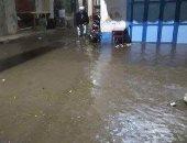 """بالصور.. رشيد تغرق فى """"شبر مية"""" بسبب الأمطار الغزيرة"""